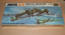 Vintage 1967 Revell Model Kit Junkers JU 88 Military Aircraft NEW SEALED