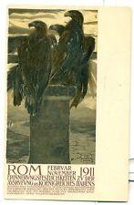 ESPOSIZIONE DI ROMA 1911 D. CAMBELLOTTI Tedesco