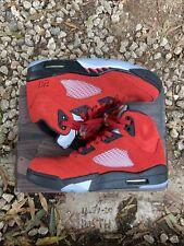 Nike Air Jordan 5 Retro Raging Bull Toro Bravo 2021 Size 9.5 (DD0587-600)