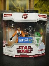 Star wars Legacy Collection Corran Horn & Whistler Walmart Exclusive New 2009