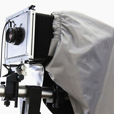 """Dark Cloth Focusing Hood Silver Black Color 4x5"""" Large Format Camera Wrapping"""