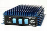 RM Italy KL-300 CB Linear Amplifier 27MHz 10 Meter 150 Watt AM/FM 300W SSB