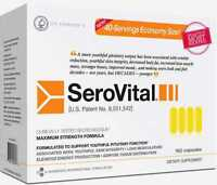 SeroVital Dietary Supplement 160 count 40 days supply Exp 2020 - 2021