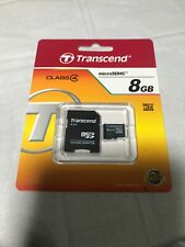Transcend 8GB MicroSDHC Card - OEM - TS8GUSDHC4