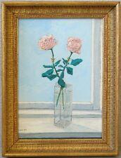 » Stillleben - Rosen am Fenster « monogr. P.Chr.