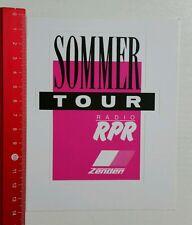 Aufkleber/Sticker: Radio RPR Sommer Tour - Zender (15081692)