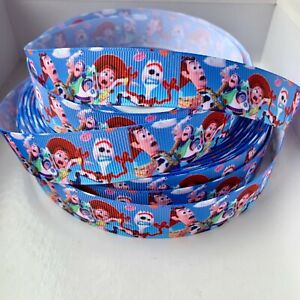 YARD DISNEY TOY STORY 4 BUZZ WOODY FORKY JESSE GROSGRAIN RIBBON CHARACTER