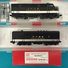 Micro Trains N  Southern 992 00 111 EMD FT Loco A/B Sets  NIB