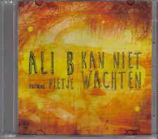 Ali B feat Pietje-Kan Niet Wachten Promo cd single