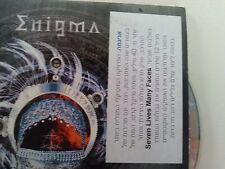 ENIGMA seven lives/la puerta del cielo  ISRAELI  PROMO CD  SINGLE