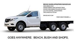 Six Wheeler Ford, Mazda, Isuzu, Toyota 6x4 to your specs GVM increase.