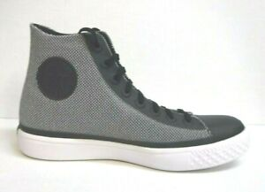 Converse Lightweight Size 8.5 Black & White High Tops New Mens Shoes