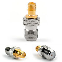 RP SMA Female To F-Type Female Jack Straight Coax RF Adapter Connector UE