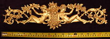 FRENCH ANTIQUE LOUIS XVI GOLD GILT DORE RESIN WALL FRAME MOULDING DECORATION