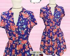 Forever 21 Floral Button-down Dress