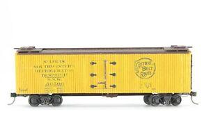 HO Silver Streak?? Cotton Belt (SSW) Craftsman 40ft Ice-Bunker Refrigerator XLNT