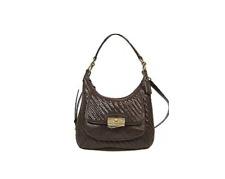 Coach Kristin Leather Convertible Hobo Crossbody Bag Handbag F19314 19314 Cacoa