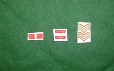 1/6 WW2 di British Suffolk REGGIMENTO titoli spalla patch set lotto