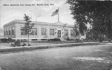 BEAVER DAM WI 1910 Malleable Iron Range Company Office Building VINTAGE WIS GEM+