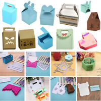 Candy Gift Box Metal Cutting Dies Stencils DIY Scrapbooking Embossing Craft New