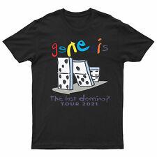 The Last Domino Mens Womens T Shirt UK Album Tour 2021 Music Concert Genesis Tee