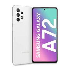 "Cellulare Smartphone Samsung Galaxy A72 SM-A725F 6,7"" 6+128GB Dual Sim White"