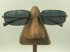 Vintage Oliver Peoples Winston Bronze Metal Rectangle Sunglasses Frames Japan