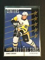 F63553  2019-20 Upper Deck Shooting Stars Centers #SSC2 Sidney Crosby PENGUINS