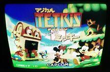 Disney Magical Tetris Challenge Mickey Mouse Jamma Arcade Game PCB CAPCOM Japan