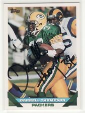 DARRELL THOMPSON GREEN BAY PACKERS 1993 TOPPS #561 AUTOGRAPHED CARD