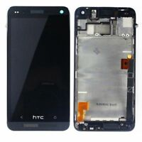 HTC One M7 LCD Touch Screen Glass Digitizer Assembly Display With Frame Black