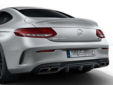 Mercedes C63 Coupe Rear Diffuser & Tailpipes Package C205 C CLASS AMG LINE C63