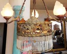 KRONLEUCHTER LÜSTER SAAL BURG SCHLOSS KÖNIG PALAST LAMPE LEUCHTER antik Antike