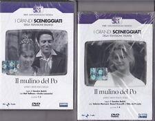 4 Dvd Sceneggiati Rai IL MULINO DEL PO ~ SERIE 01 del 1963 + SERIE 02 del 1971