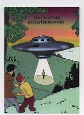 Carte Postale Les Portraits de Tintin n°13. Titin et les extraterrestres - 2016