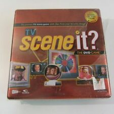 TV Edition Trivia Scene it? DVD Game Tin Never Opened Unused 2005 Edition