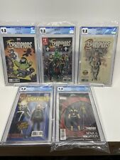 CHAMPIONS 1 CGC 9.8 - Cover A, Skottie Young, Action Fig A&B, Golden Apple LOT