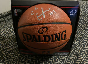 CADE CUNNINGHAM signed OFFICIAL NBA BASKETBALL #1 Overall Pick Pistons PROOF