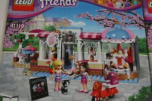 Lego Friends Set 41119 Heartlake Cupcake Cafe Top komplett mit Bauanleitung