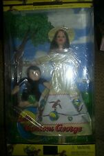 Barbie and Curious George Monkey 2001 Doll
