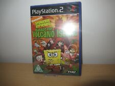 Spongebob Battle For Vulcano Isola, PS2, Nuovo, Sigillato Pal