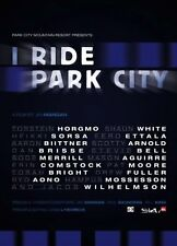 I Ride Park City Snowboard Snowboarding DVD Movie Video NEW! Sports