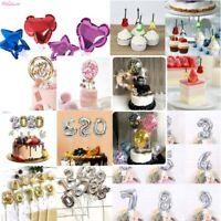 5'' Colorful Confetti Aluminum Foil Small Balloon Birthday Party Cake Decoration