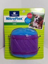 TOP PAW Dog Toy NitroFlex Treat Dispensing Buddy Cube Large