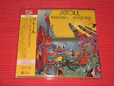 ATOLL Musiciens Magiciens with Bonus Tracks   JAPAN MINI LP SHM CD
