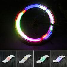 LED Cycling Bike Wheel Spoke Tire Rim Charm Light Flash String Lamp Multi-Color