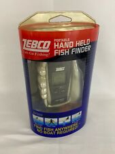 Zebco ZF200 Portable Hand Held Fish Finder (Black/Silver) - New