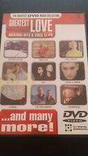 DVD - Greatest Love / 18 Original Hits & Video Clips - Music DVD