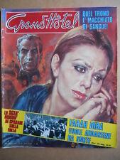 GRAND HOTEL n°42 1978 Farah Diba Bjon Borg Enrico Montesano  [C93]
