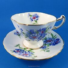 Gorgeous Cornflower Hammersley Cup & Saucer
